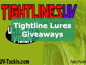 Tightlines Lures Giveaways